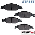 Hawk Performance Ceramic Brake Pads - Front Pair (99-04 GT, V6) - Hawk Performance (Carlisle Products) HB274Z610