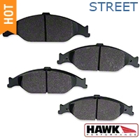 Hawk Performance Ceramic Brake Pads - Front Pair (99-04 GT, V6) - Hawk Performance HB274Z.610