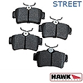 Hawk Performance Ceramic Brake Pads - Rear Pair (94-04 GT, V6) - Hawk Performance (Carlisle Products) HB183Z660
