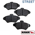Hawk Performance Ceramic Brake Pads - Front Pair (94-98 GT, V6) - Hawk Performance HB182Z.660