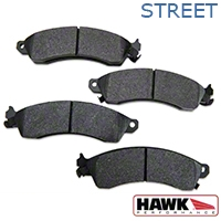 Hawk Performance Ceramic Brake Pads - Front Pair (94-04 Bullitt, Mach 1, Cobra) - Hawk Performance (Carlisle Products) HB111Z610