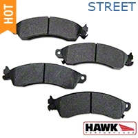 Hawk Performance Ceramic Brake Pads - Front Pair (94-04 Bullitt, Mach 1, Cobra) - Hawk Performance HB111Z.610