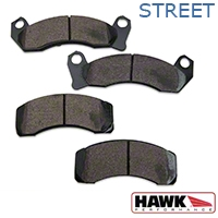 Hawk Performance Ceramic Brake Pads - Front Pair (87-93 5.0L) - Hawk Performance (Carlisle Products) HB263Z650