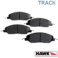 Hawk Performance HP Plus Brake Pads - Front Pair (05-14 GT, V6) - Hawk Performance (Carlisle Products) HB484N.670