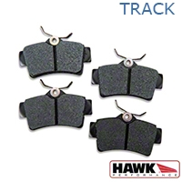 Hawk Performance HP Plus Brake Pads - Rear Pair (94-04 Bullitt, Mach 1, Cobra) - Hawk Performance (Carlisle Products) HB183N.585