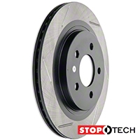 Powerslot Slotted Rotors - Rear Pair (05-14 GT, V6) - Powerslot 126.61087SL||126.61087SR