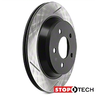 Powerslot Slotted Rotors - Rear Pair (94-04 V6, Bullitt, Mach 1, Cobra) - Powerslot 126.61046SL||126.61046SR