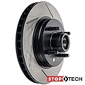 Powerslot Slotted Rotors - Front Pair (87-93 5.0L) - Powerslot 126.61026SL||126.61026SR