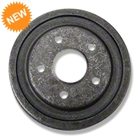 Replacement Rear Drum - 5 Lug (84-86 SVO, 79-93 5 Lug Conversion) - AM Restoration 122.65023