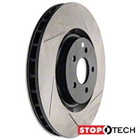StopTech Slotted Rotors - Front Pair (07-12 GT500, 12-13 BOSS) - StopTech 126.61089SL||126.61089SR