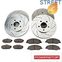 Power Stop Brake Rotor & Pad Kit - Front & Rear (05-10 V6) - Power Stop K1383