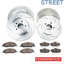 Power Stop Brake Rotor & Pad Kit - Front & Rear (11-14 GT) - Power Stop K5943