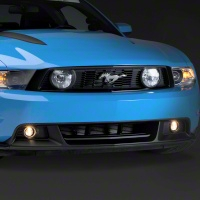 BOSS/CS Style Lower Front Fascia w/ Foglights (10-12 GT) - Ford Racing BR3Z-15200-AA