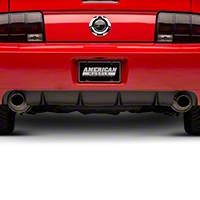 GT500/CS Rear Bumper Cover w/ Diffuser - Unpainted (05-09 All) - AM Restoration 53674