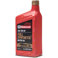 Ford Motorcraft 5W50 Motor Oil - Ford XO5W50QGT