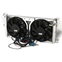AFCO Pro-Series Heat Exchanger w/ Fans (07-12 GT500) - AFCO 80280PRO