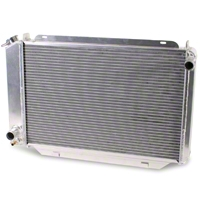 AFCO Direct Fit Radiator - Manual (79-93 5.0L) - AFCO 81270-S-NA-N
