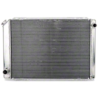 AFCO Race Radiator - Manual (79-93 5.0L) - AFCO 80109FN