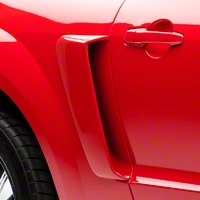 CVX Style Side Scoops - Unpainted (05-09 All) - AM Exterior 104798