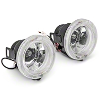 Universal 3-Inch Body Kit Fog Light - AM Lights 105957