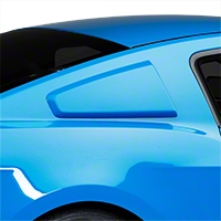 3DCarbon Type I Quarter Window Scoops - Unpainted (10-14 All) - 3dCarbon 691628