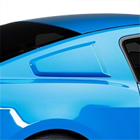 3DCarbon Type II Quarter Window Scoops - Unpainted (10-14 All) - 3dCarbon 691629