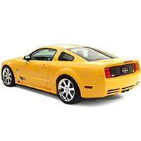 Saleen S281 Rear Fascia Kit - Unpainted (05-09 GT) - Saleen 10-1103-B112980