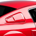 Saleen Quarter Window Covers - Unpainted (05-09 All) - Saleen 10-1102-B17137