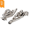 BBK Chrome Equal Length Shorty Headers (86-93 5.0L) - BBK 1512