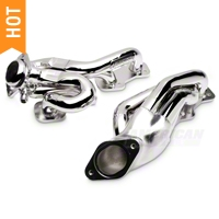 BBK Chrome Tuned Length Shorty Headers (96-04 GT) - BBK 1615