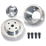 BBK Underdrive Pulleys - Aluminum (79-93 5.0L) - BBK Performance 1553