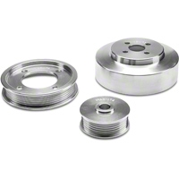 BBK Underdrive Pulleys - Aluminum (94-95 GT, Cobra) - BBK Performance 1554