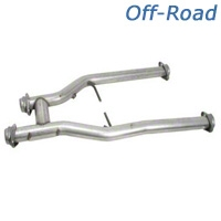 BBK Off-Road Shorty H-Pipe (96-04 4.6L) - BBK 1535