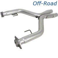 BBK Off-Road Shorty X-Pipe (05-10 GT) - BBK Performance 1636