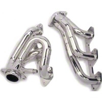 BBK Chrome Tuned Length Shorty Headers (05-10 V6) - BBK Performance 4010