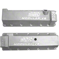 BBK Aluminum Valve Covers - 13/14 Bolt Pattern (96-04 GT) - BBK 1804