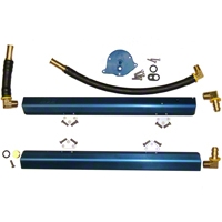 BBK High Flow Aluminum Fuel Rail Kit (86-93 5.0L) - BBK Performance 5010