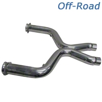 BBK Off-Road X-Pipe (11-14 GT w/ Long Tube Headers) - BBK 1655