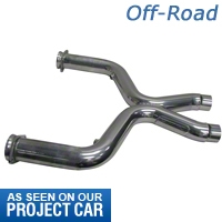 BBK Off-Road Shorty X-Pipe (11-14 V6) - BBK Performance 1462