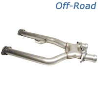 BBK Off-Road Shorty X-Pipe (94-95 5.0L) - BBK Performance 1671