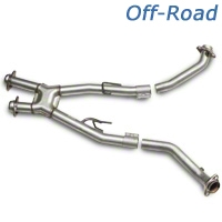 BBK Off-Road X-Pipe (86-93 5.0L) - BBK 1661
