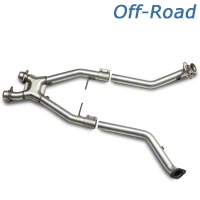 BBK Off-Road X-Pipe (96-98 GT) - BBK Performance 1665