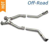 BBK Off-Road X-Pipe (99-04 4.6L) - BBK 1669