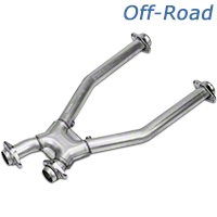 BBK Off-Road Shorty X-Pipe (96-04 4.6L) - BBK Performance 1635