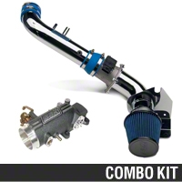 BBK CAI and 78mm Throttle Intake Combo (96-04 GT) - BBK KIT9604