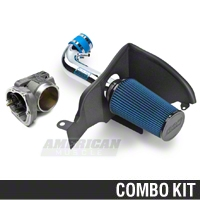 BBK CAI and 70mm Throttle Body Combo (05-10 V6) - BBK Performance KIT05106