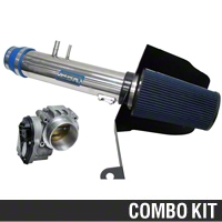 BBK CAI and 73mm Throttle Body Combo (11-14 V6) - BBK KIT11136