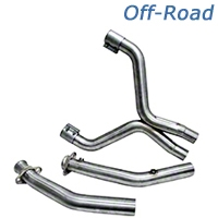 BBK Off-Road X-Pipe (07-10 GT500) - BBK Performance 16995