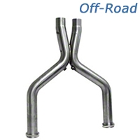BBK Off-Road Shorty X-Pipe (07-14 GT500) - BBK Performance 16515