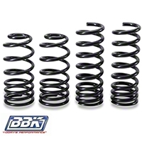 BBK Lowering Springs - Coupe & Convertible - Progressive Rate (79-04 GT, Mach 1; 93-98 Cobra) - BBK Performance 2510